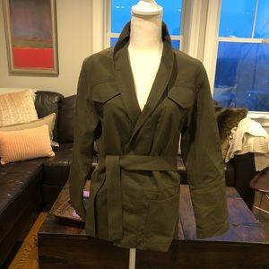 Aritzia Wilfred XS army green jacket